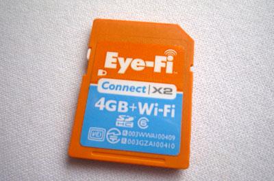 こけまり流 ブログ考察'11 - その5 毎日更新ツール(ガジェット編)| Eye-Fiカード